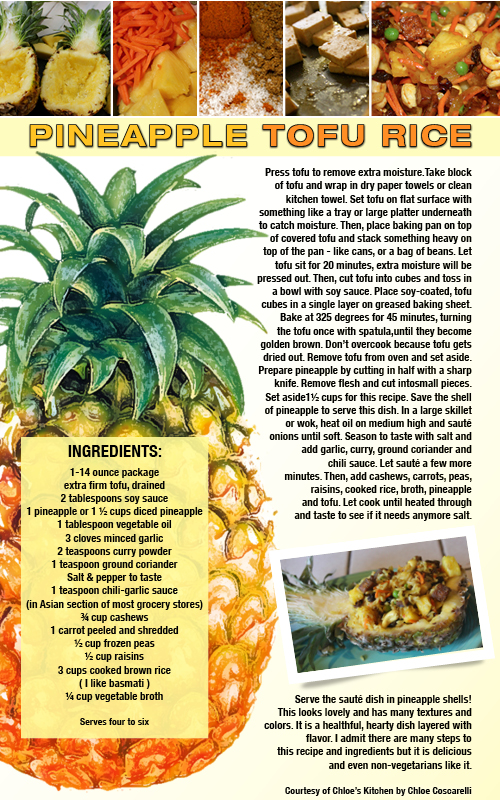 Pineapple recipe