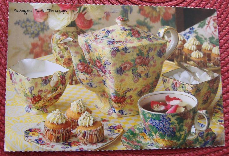 Tea friends postcard